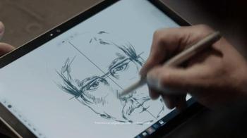 Microsoft Surface Pro 4 TV Spot, 'La artista forense' [Spanish] - Thumbnail 2