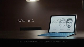 Microsoft Surface Pro 4 TV Spot, 'La artista forense' [Spanish] - Thumbnail 9