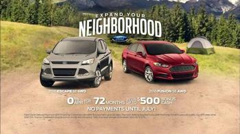 Ford TV Spot, 'Expand Your Neighborhood: Rush Hour' - Thumbnail 7
