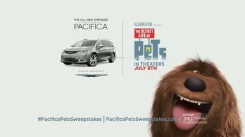Chrysler Pacifica TV Spot, 'The Secret Life of Pets: Chloe' - Thumbnail 9