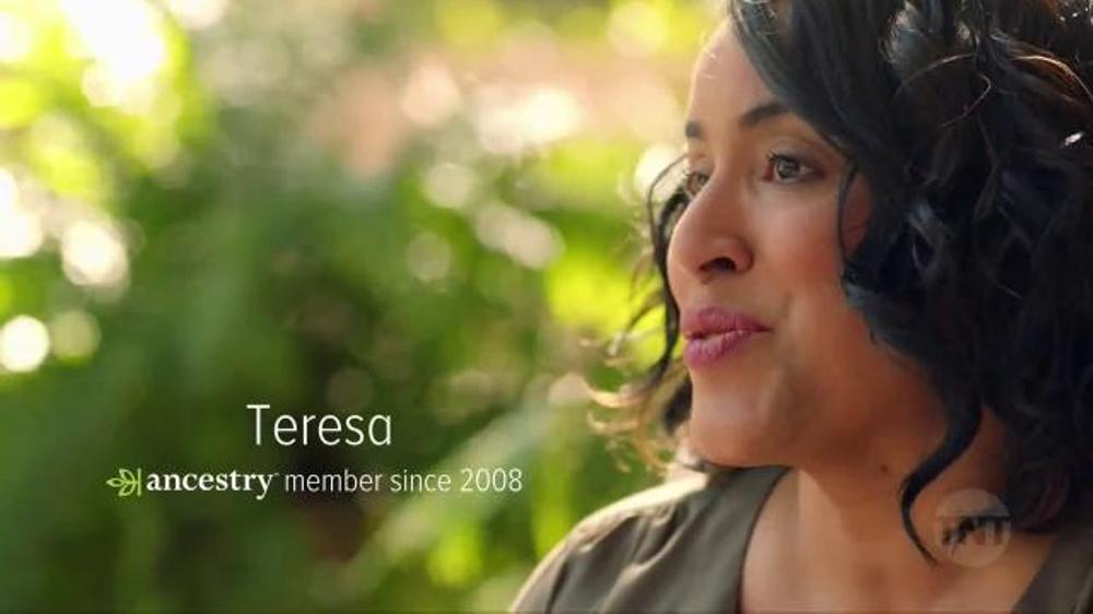 AncestryDNA TV Commercial, 'TNT: Teresa's Story'