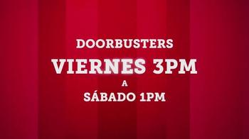 JCPenney TV Spot, 'Doorbusters: camisetas y toallas de baño' [Spanish] - Thumbnail 3