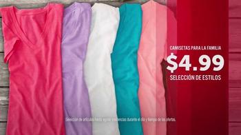 JCPenney TV Spot, 'Doorbusters: camisetas y toallas de baño' [Spanish] - Thumbnail 4