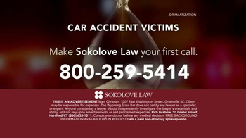 Sokolove Law TV Spot, 'Auto Accident Victims' - Thumbnail 9
