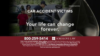 Sokolove Law TV Spot, 'Auto Accident Victims'