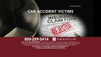 Sokolove Law TV Spot, 'Auto Accident Victims' - Thumbnail 4