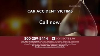 Sokolove Law TV Spot, 'Auto Accident Victims' - Thumbnail 5