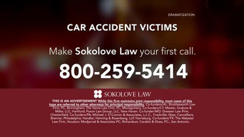 Sokolove Law TV Spot, 'Auto Accident Victims' - Thumbnail 7