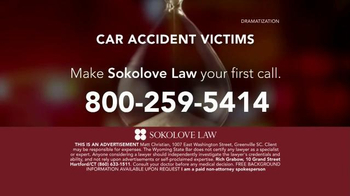 Sokolove Law TV Spot, 'Auto Accident Victims' - Thumbnail 8