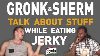 Oberto Beef Jerky TV Spot, 'Snuggie & X-Ray' Featuring Richard Sherman - 73 commercial airings