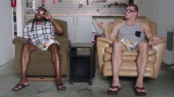 Oberto Beef Jerky TV Spot, 'Snuggie & X-Ray' Featuring Richard Sherman - Thumbnail 2