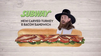 Subway Carved Turkey and Bacon Sandwich TV Spot, 'Can I Have It?' - Thumbnail 1