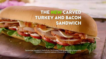Subway Carved Turkey and Bacon Sandwich TV Spot, 'Can I Have It?' - Thumbnail 8
