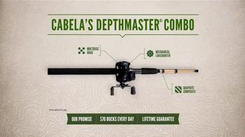 Cabela's Depthmaster III Combo TV Spot, 'Practical' - Thumbnail 8