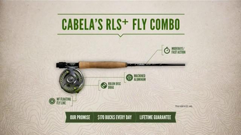 Cabela's RLS+ Fly Combo TV Spot, 'Smooth and Strong' - Thumbnail 2