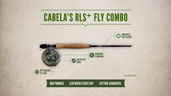 Cabela's RLS+ Fly Combo TV Spot, 'Smooth and Strong' - 289 commercial airings