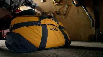Cabela's Ripcord Duffel Bag TV Spot, 'Strapped' - 1666 commercial airings