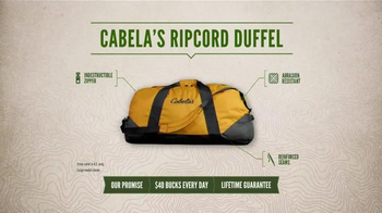 Cabela's Ripcord Duffel Bag TV Spot, 'Strapped' - Thumbnail 3