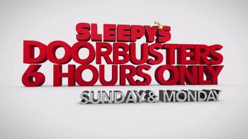 Sleepy's Doorbuster Weekend TV Spot, 'First Six Hours'