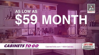 Cabinets To Go Memorial Day Sale TV Spot, 'Update Your Kitchen' - Thumbnail 2