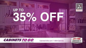 Cabinets To Go Memorial Day Sale TV Spot, 'Update Your Kitchen' - 12 commercial airings