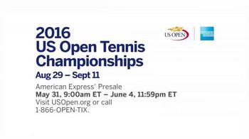 2016 US Open TV Spot, 'American Express Pre-Sale' - Thumbnail 8
