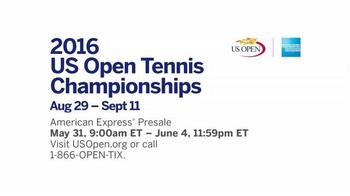 2016 US Open TV Spot, 'American Express Pre-Sale' - Thumbnail 6