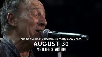 Metlife Stadium TV Spot, 'Bruce Springsteen and the E Street Band' - Thumbnail 3