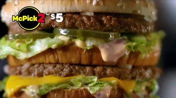 McDonald's McPick 2 TV Spot, 'Drive-Thru' - Thumbnail 6