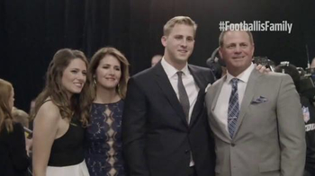 NFL TV Spot, 'Welcome to the Family: Jared Goff' - 14 commercial airings