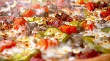 Papa John's Bacon Cheeseburger Pizza TV Spot, 'More Perfect'