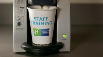 Holiday Inn Express TV Spot, 'Coffee Tasting' Featuring Rob Riggle - Thumbnail 1