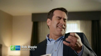 Holiday Inn Express TV Spot, 'Coffee Tasting' Featuring Rob Riggle - 4006 commercial airings