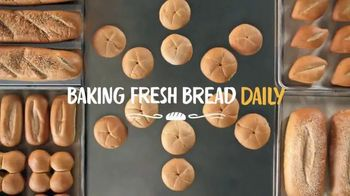 Walmart TV Spot, 'Fresh Baked Bread With Walmart'