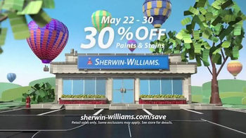 Sherwin-Williams National Painting Week Sale TV Spot, 'Paints and Stains' - Thumbnail 10