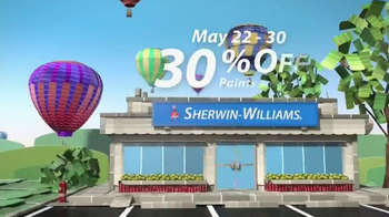 Sherwin-Williams National Painting Week Sale TV Spot, 'Paints and Stains' - Thumbnail 6