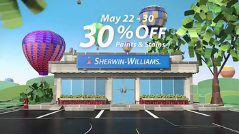 Sherwin-Williams National Painting Week Sale TV Spot, 'Paints and Stains' - Thumbnail 7