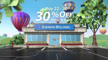Sherwin-Williams National Painting Week Sale TV Spot, 'Paints and Stains' - Thumbnail 8