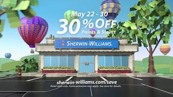 Sherwin-Williams National Painting Week Sale TV Spot, 'Paints and Stains' - Thumbnail 9
