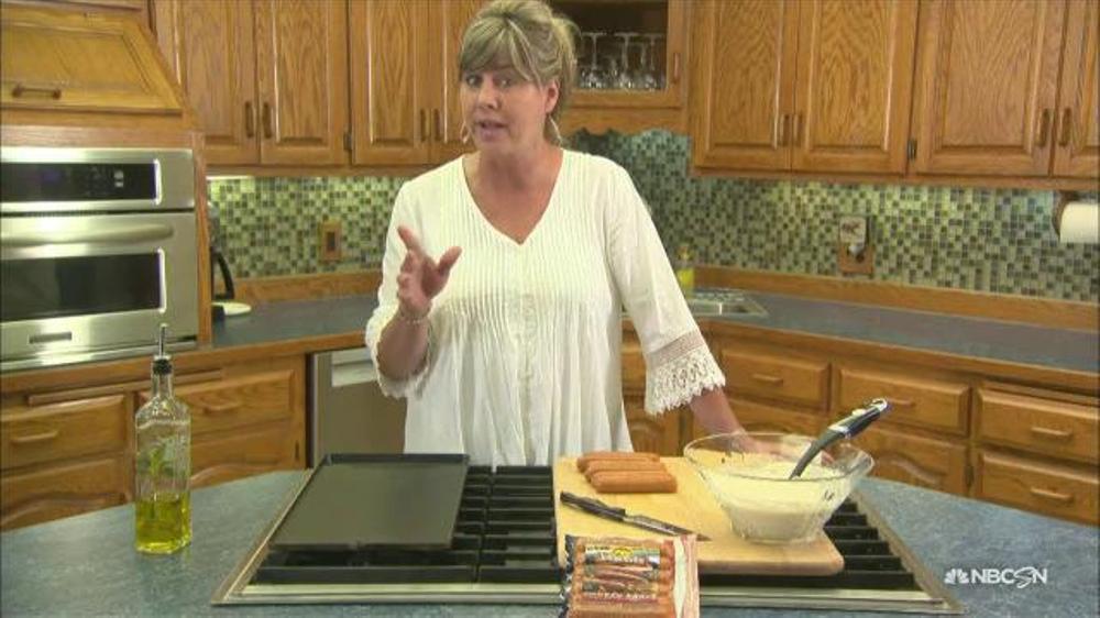 High Quality Johnsonville Sausage TV Commercial, U0027NBC Sports: Krisu0027 Kitchenu0027   ISpot.tv