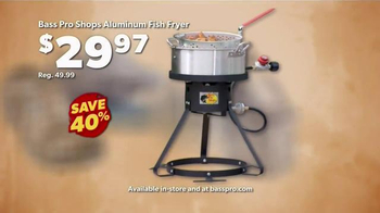 Bass Pro Shops Go Outdoors Event and Sale TV Spot, 'Gear & BBQ' - Thumbnail 6