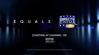 DIRECTV Cinema TV Spot, 'Equals' - Thumbnail 6