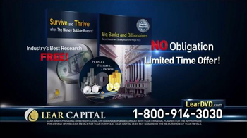 Lear Capital TV Spot, 'The Alarming Truth' - Thumbnail 10