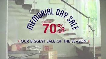 Overstock.com Memorial Day Sale TV Spot, 'Biggest Sale of the Season' - Thumbnail 1