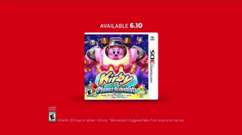 Kirby: Planet Robobot TV Spot, 'Jump Into Battle' - Thumbnail 5