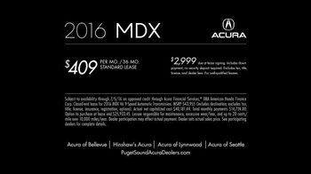 2016 Acura MDX TV Spot, 'Point of View' Song by Dorothy - Thumbnail 6