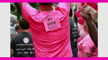 Susan G. Komen for the Cure TV Spot, 'WWE: Share Your Story Contest' - Thumbnail 6