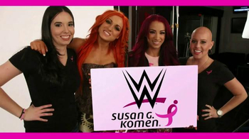 Susan G. Komen for the Cure TV Spot, 'WWE: Share Your Story Contest'