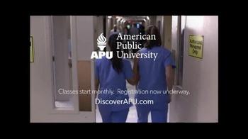 American Public University TV Spot, 'Workout' - Thumbnail 5