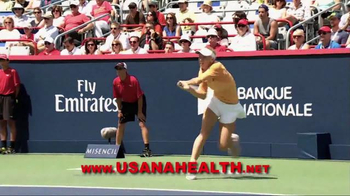 Usana TV Spot, 'The Dr. Oz Show: Want to Win' Featured Caroline Wozniacki